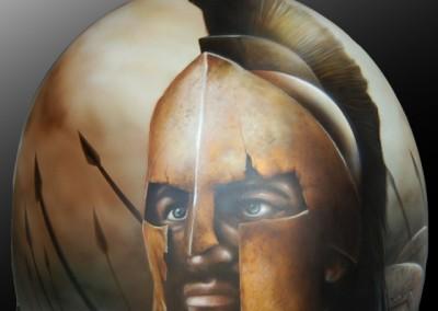 casco guerriero